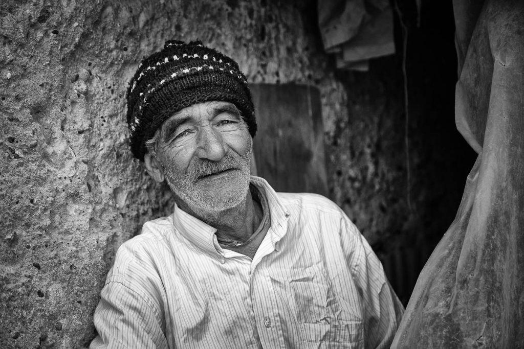 Cheerful moroccan man