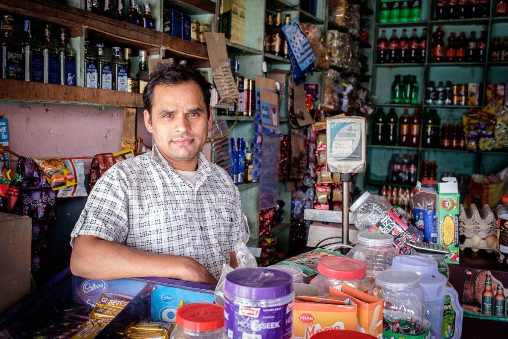 Proud Shopkeeper