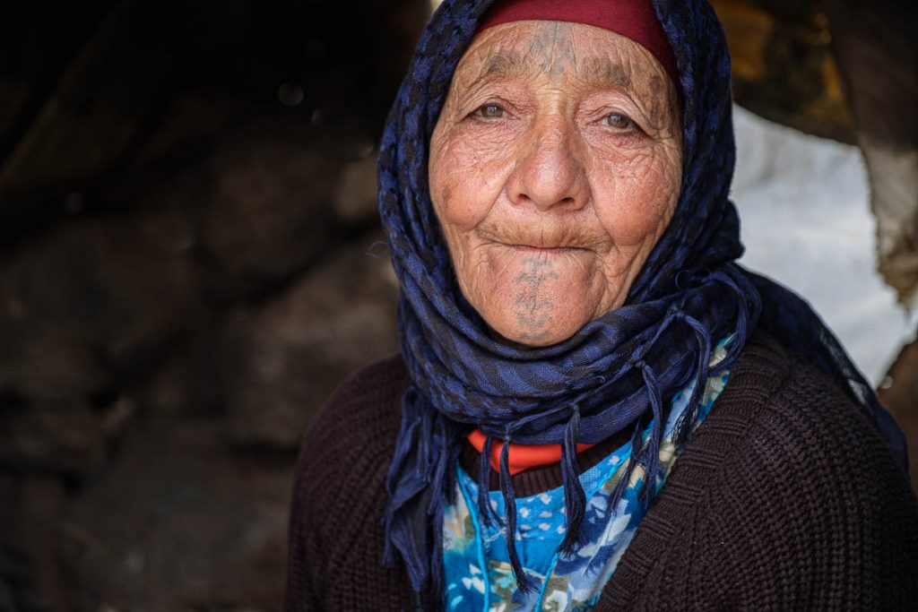 Berber lady portrait