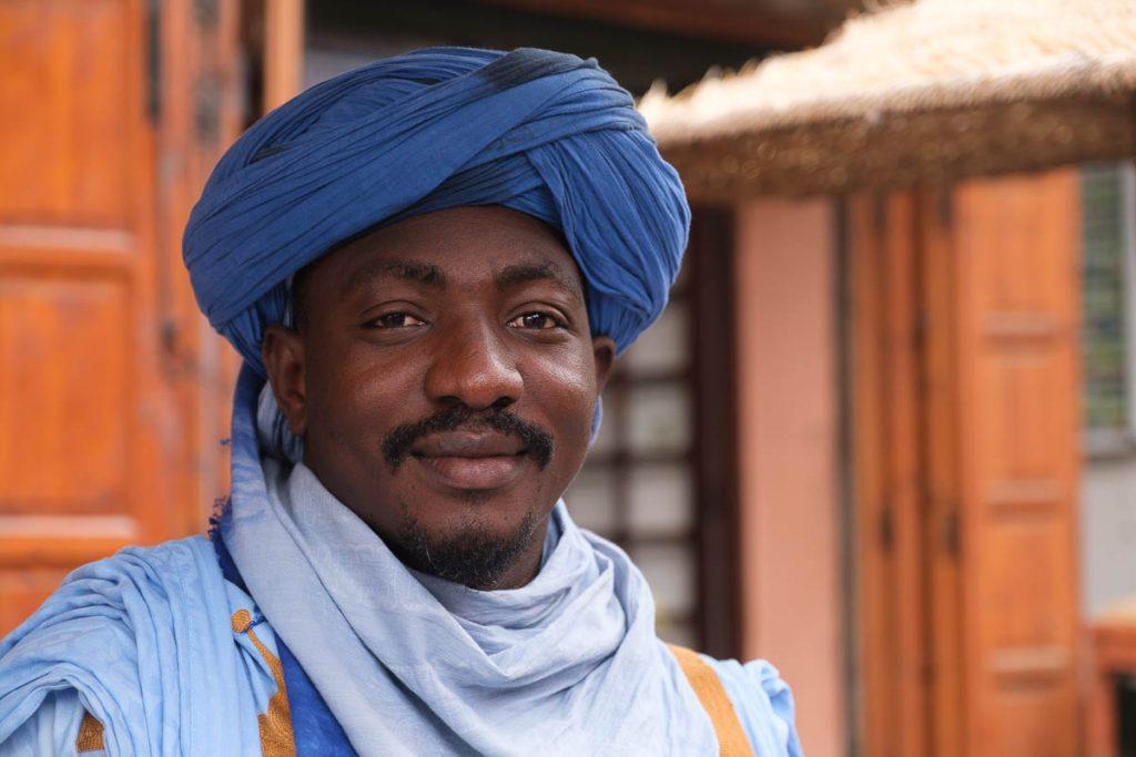 Berber man portrait