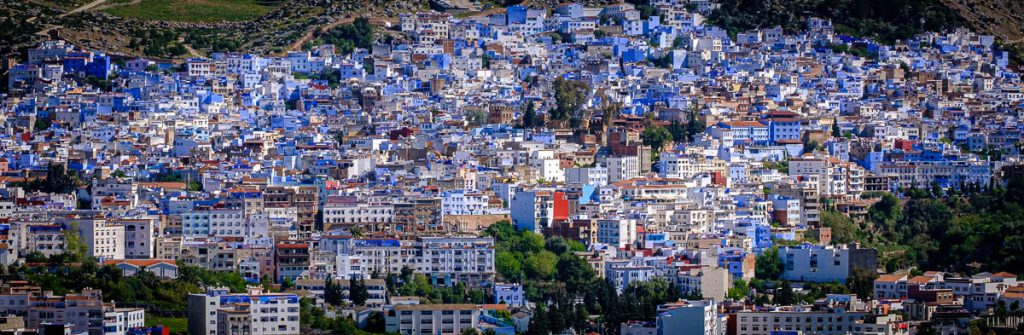 Chefchaouen - Blue city n the mountains