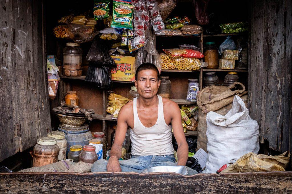 Village shopkeeper