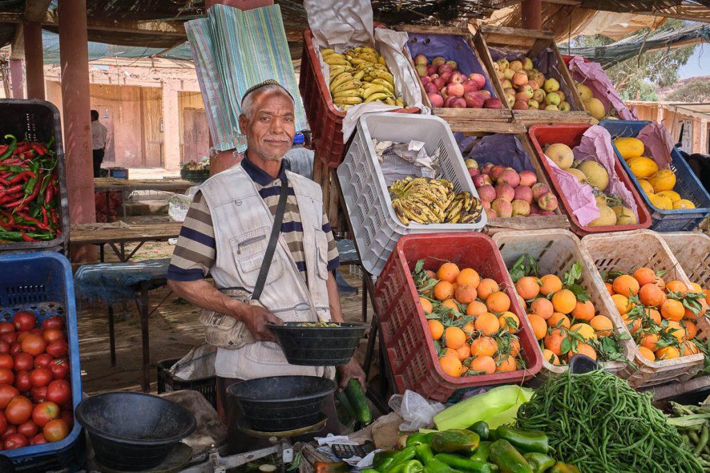fruit market seller