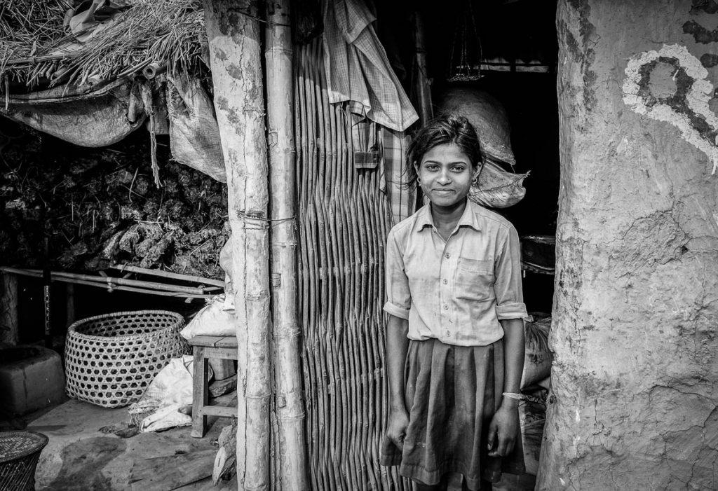 Nepali Schoolgirl
