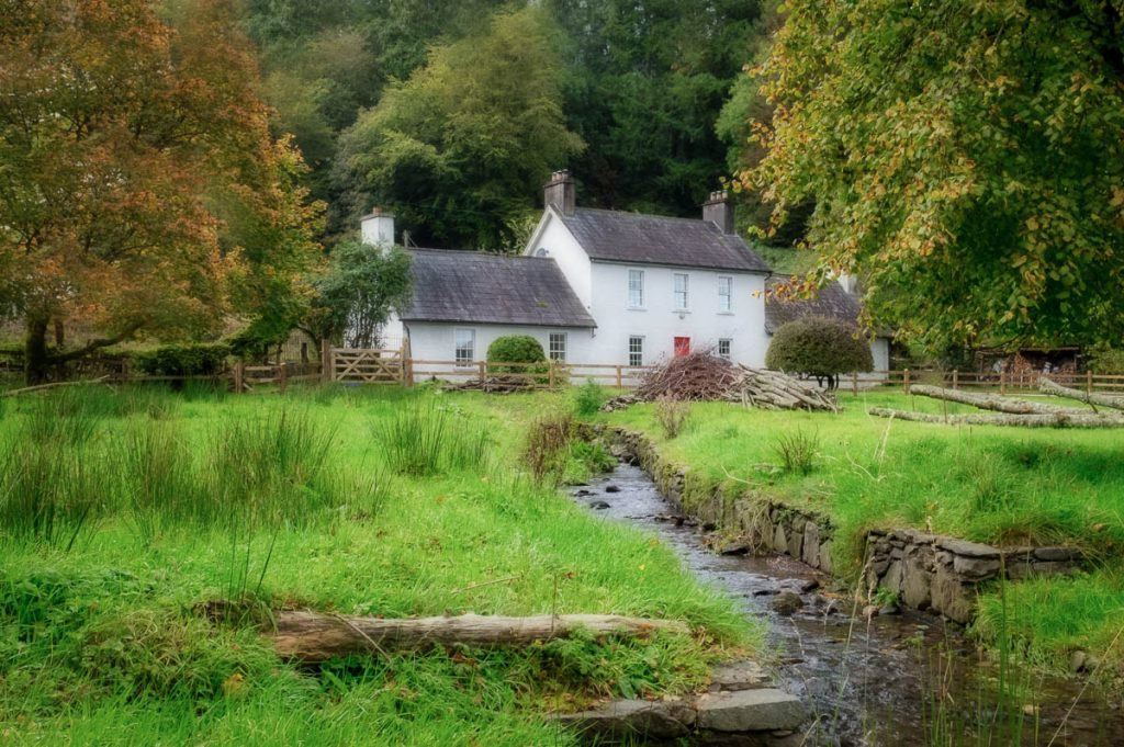 traditional country cottage, Cork, Ireland