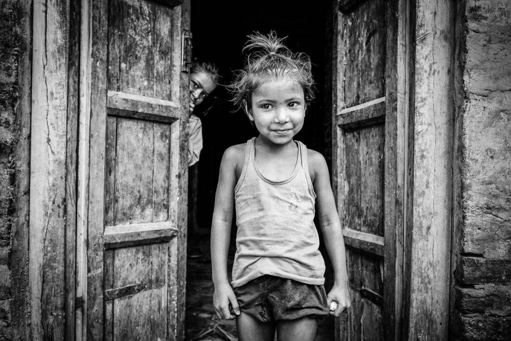 Young nepalses girl