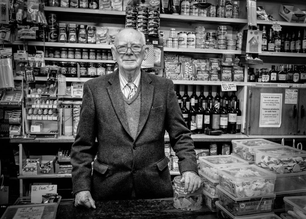 Irish shopkeeper