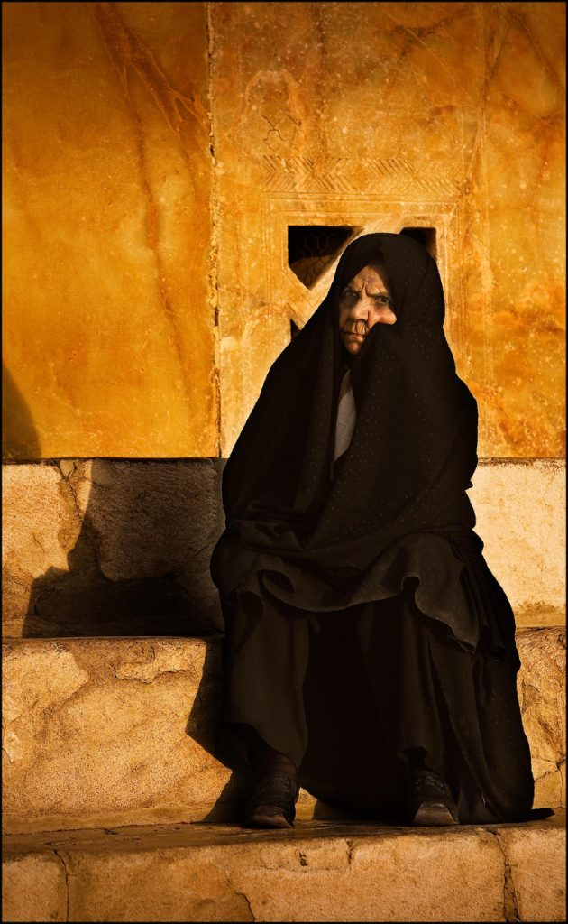 Woman in chador, Esfahan, Iran