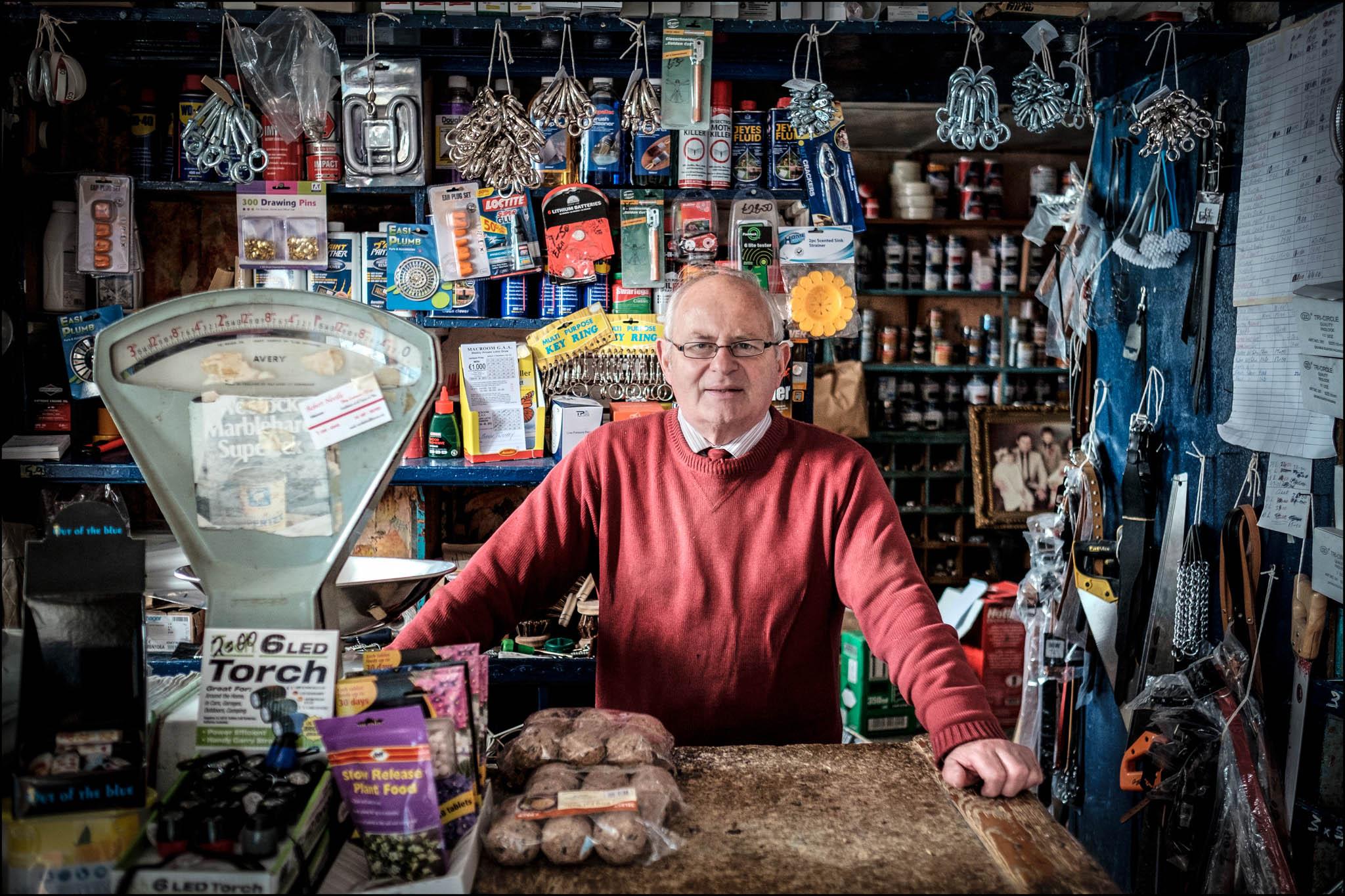 Traditional Irish shops
