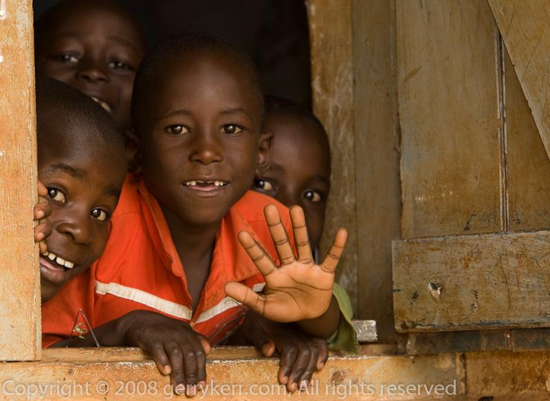 A Ugandan School
